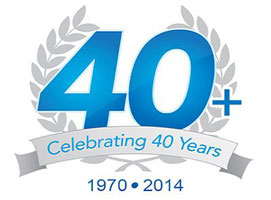 Badge - 40 Years